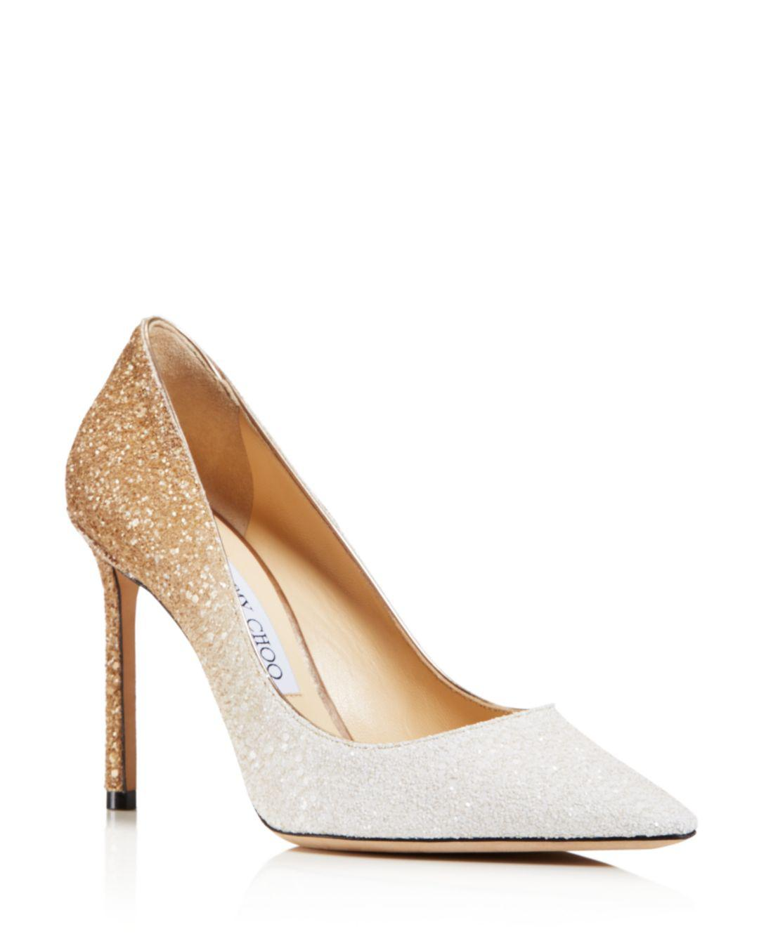 63cae8c21 Gallery. Previously sold at: Bergdorf Goodman, Bloomingdale's, Neiman  Marcus · Women's Jimmy Choo Glitter Shoes