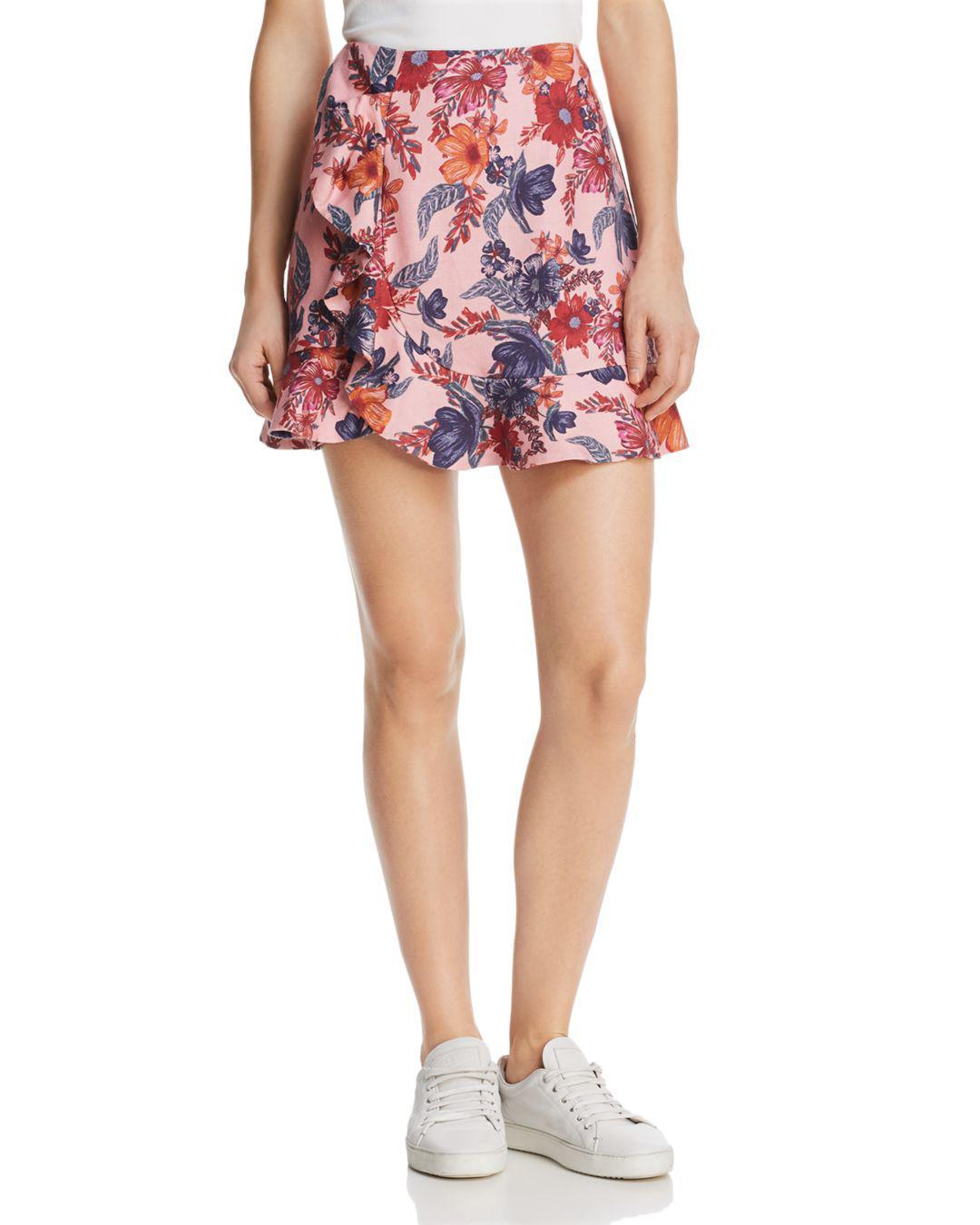 0880ec7710fd Lyst - Finders Keepers Rhapsody Mini Skirt