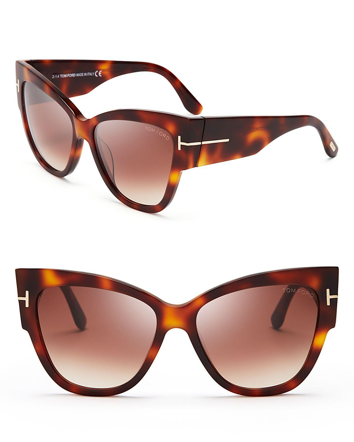 f229ece0279 Gallery. Previously sold at  Bloomingdale s · Women s Tom Ford Cat Eye ...
