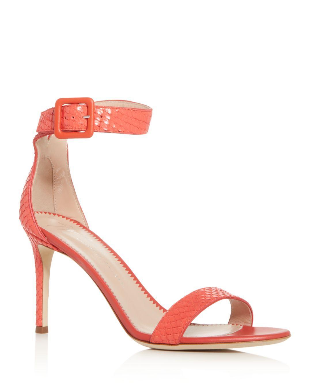 4a074132235 Lyst - Giuseppe Zanotti Women s Neyla Ankle-strap High-heel Sandals