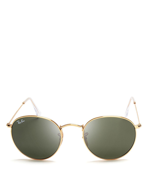 ab001070376 Ray Ban 50mm Round Sunglasses « Heritage Malta