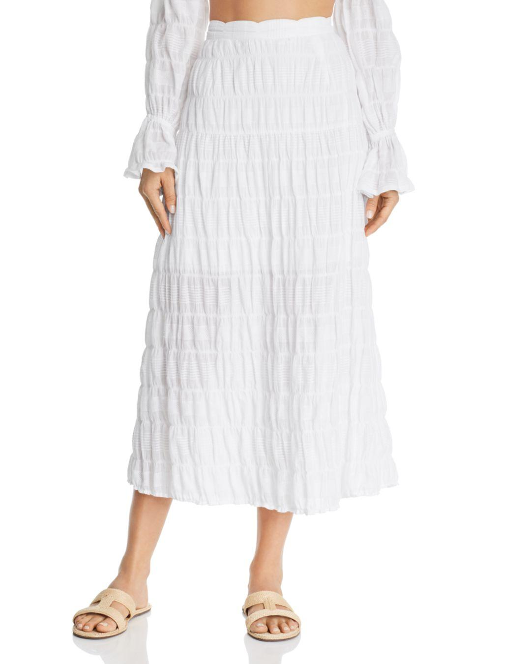 288374b9d2 Suboo Daydreamer Maxi Skirt in White - Lyst