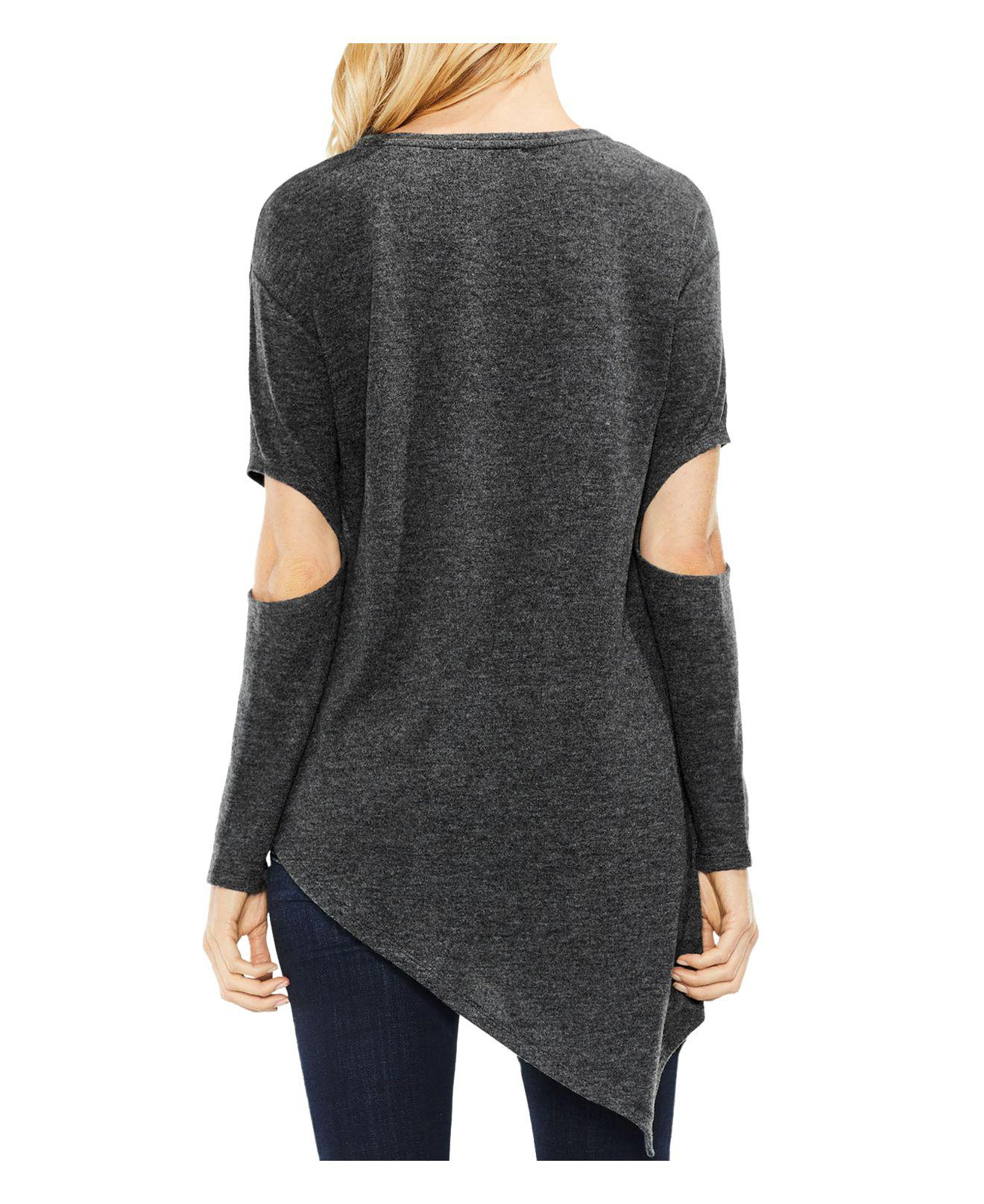 Official Site Vince asymmetric cut out sweater Clearance 100% Guaranteed 0eWe6CZ