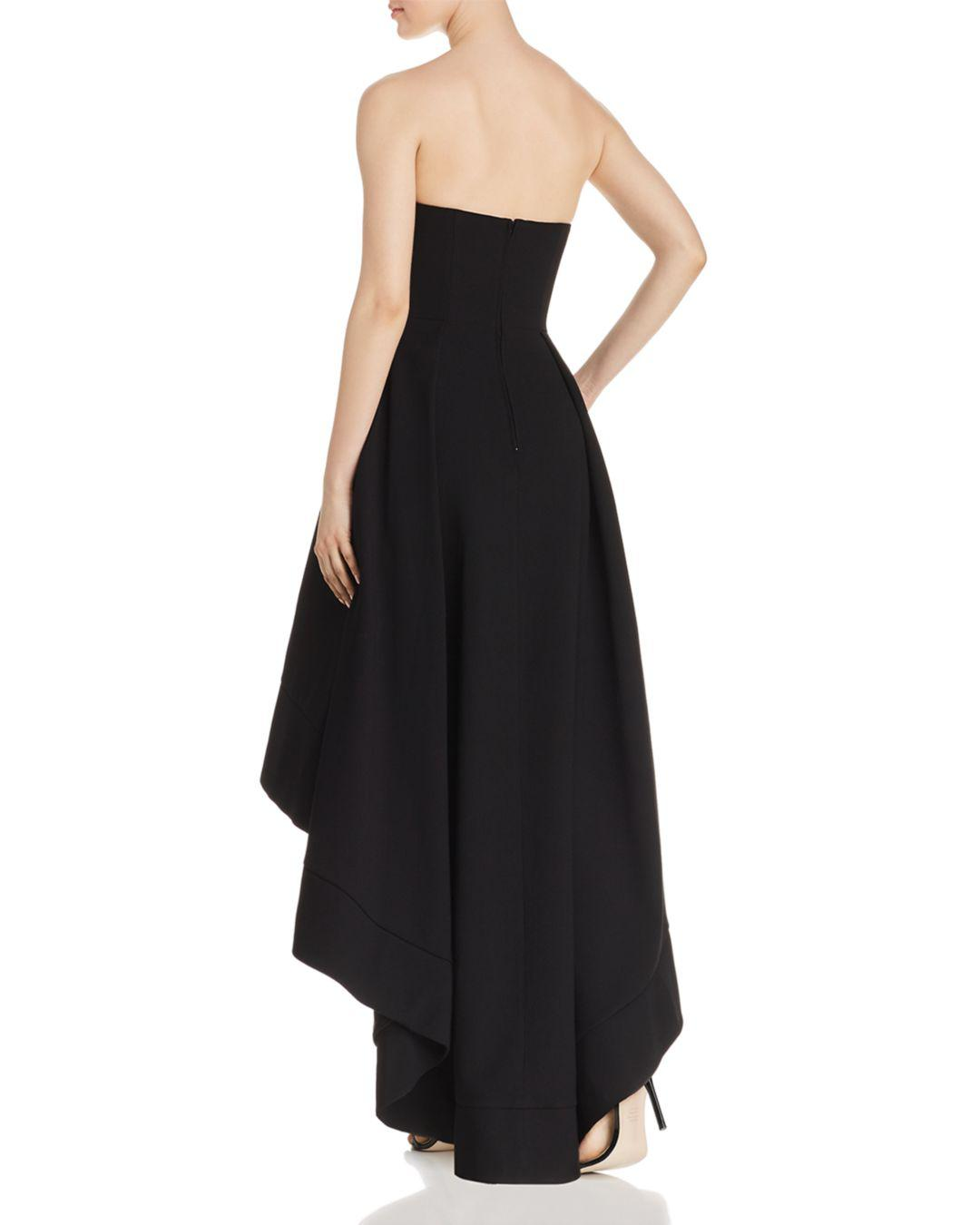 fc8010c7196c Lyst - C meo Collective Entice Strapless Gown in Black