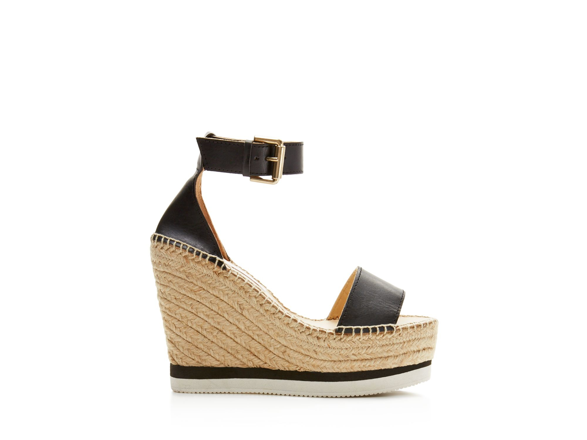 See By Chlo 233 See By Chlo 233 Glyn Leather Espadrille Platform