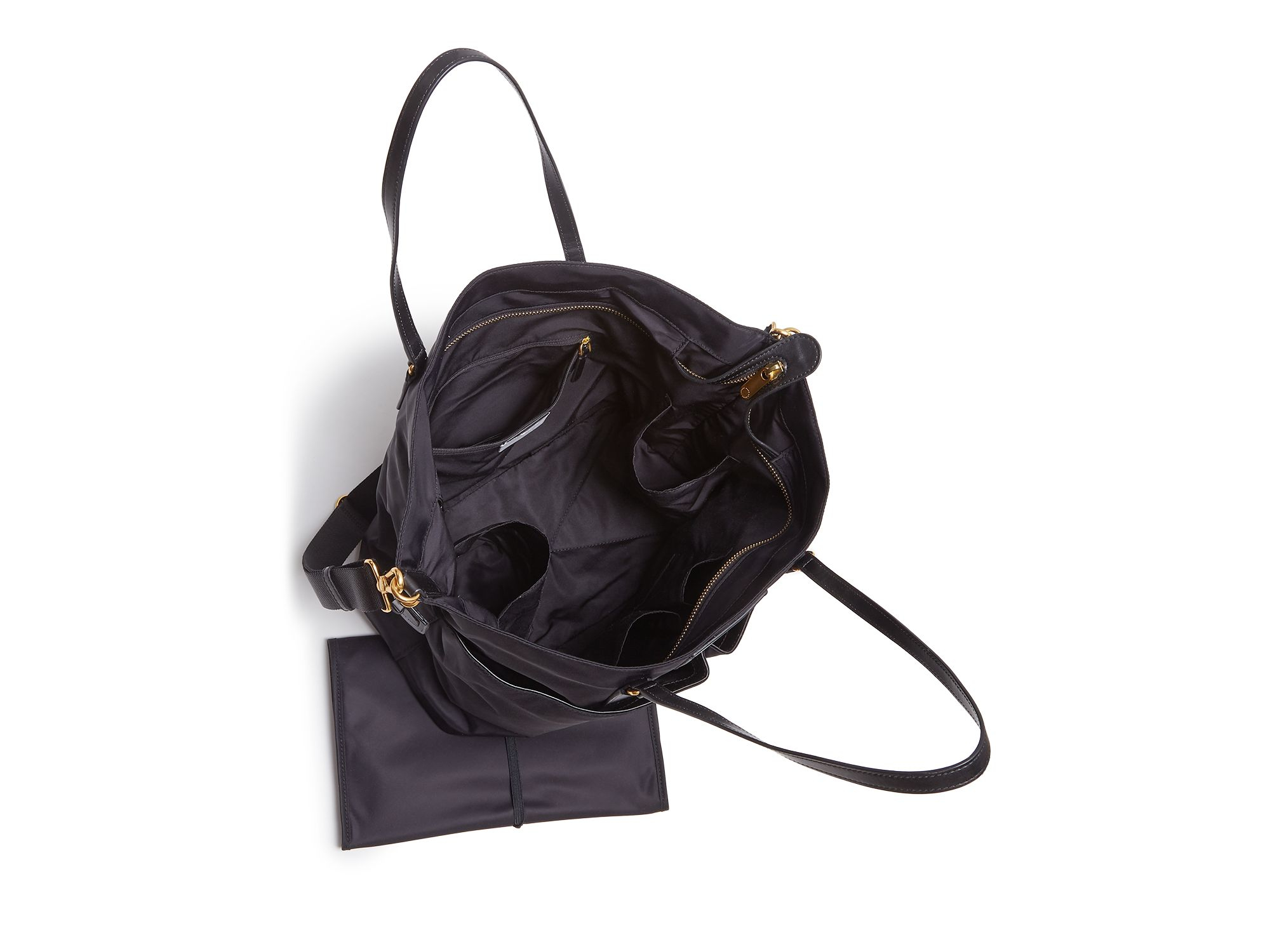 bd508a96929f Lyst - Marc Jacobs Preppy Legend Elizababy Diaper Bag in Black