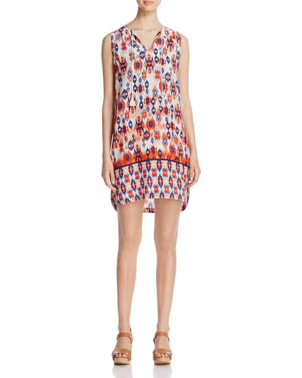 Beach Lunch Lounge Ikat Print Sleeveless Dress Lyst