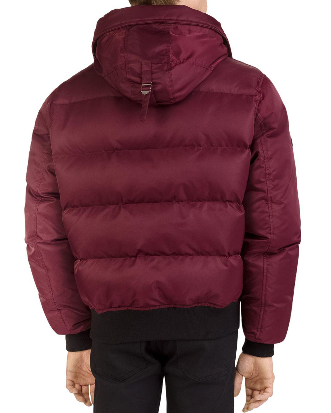 249c99247d The Kooples Quilted Down Jacket in Red for Men - Lyst