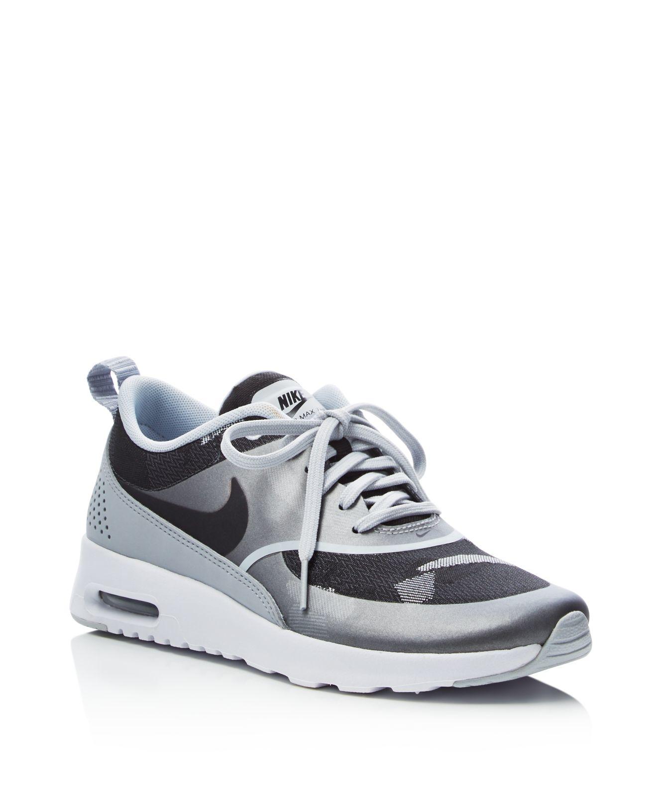 46cc85a14569 Air Max Thea Jacquard Sneakers. nike air max thea premium jacquard ...