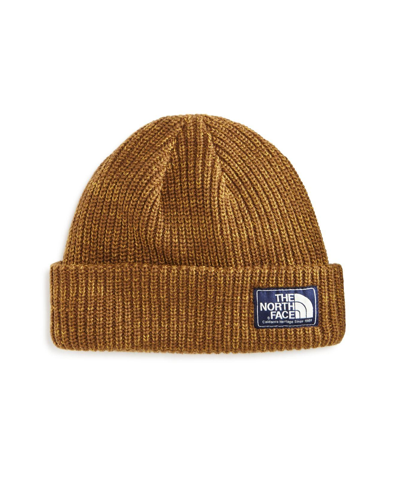Lyst - The North Face Salty Dog Beanie in Brown for Men e5a1a7be938
