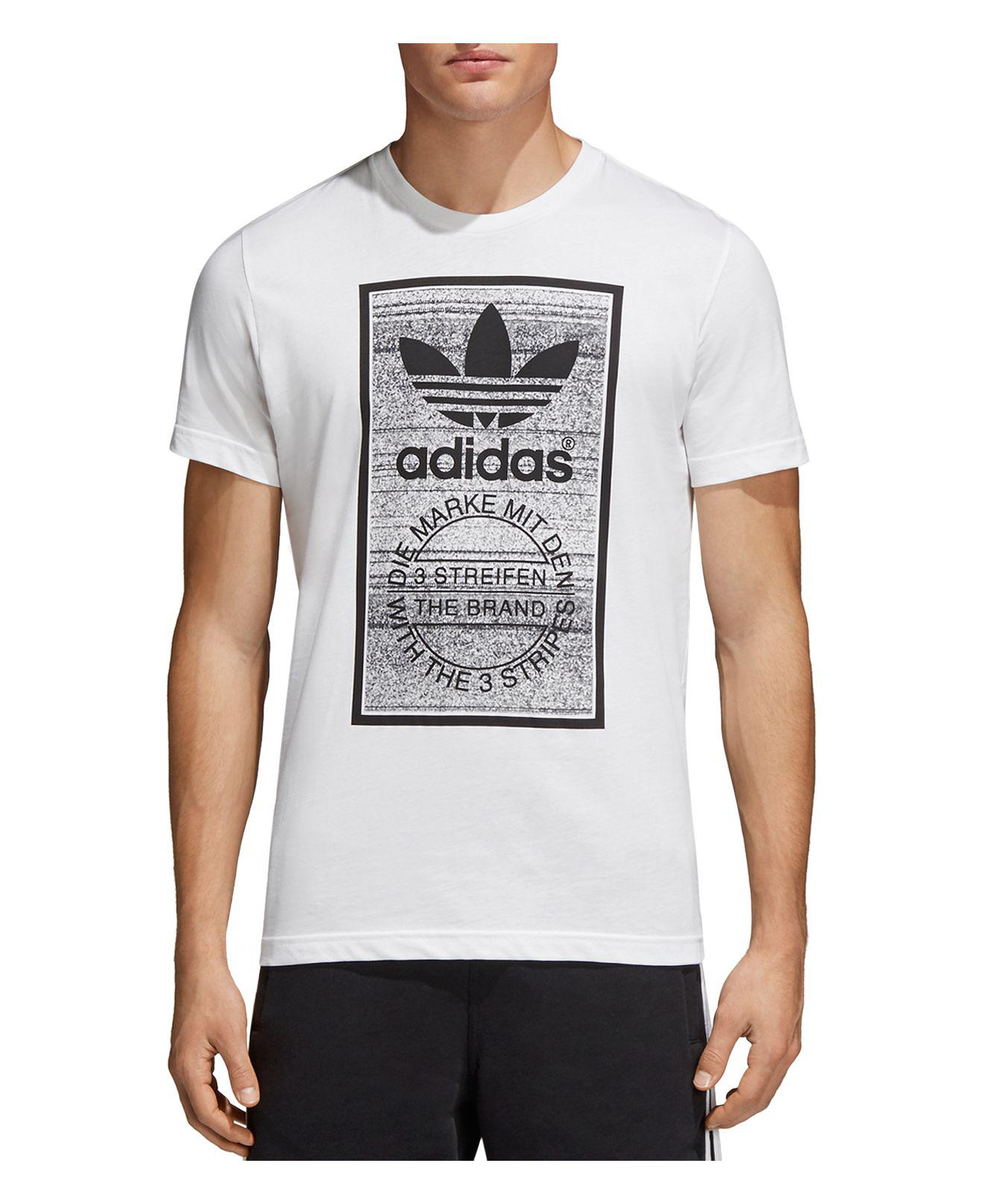 Sleeve For Tongue Tee In Men Originals Short Traction White Adidas f8wIqgI