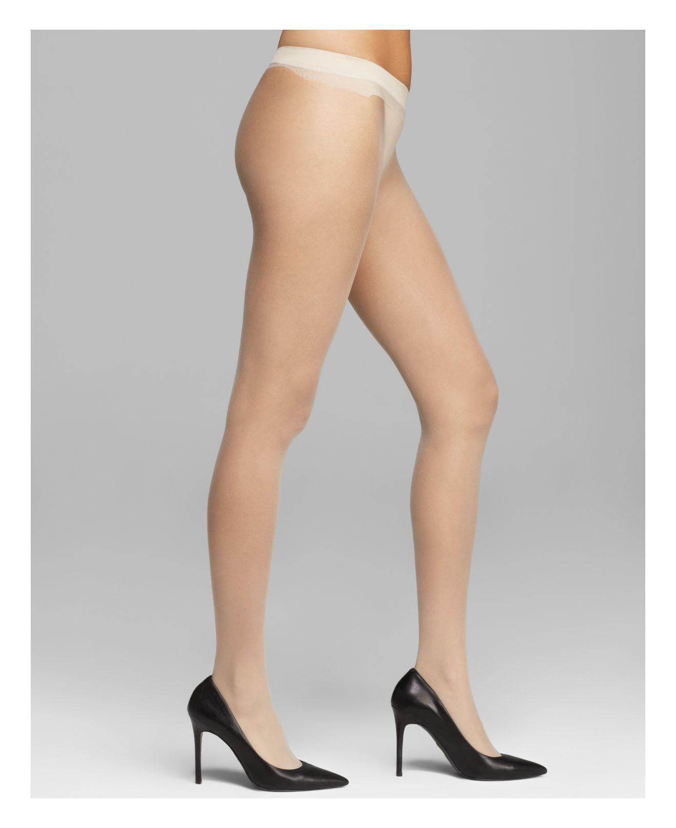 0d9131eb05f14 Calvin Klein Sheer Essentials Seamless Tights in Natural - Lyst