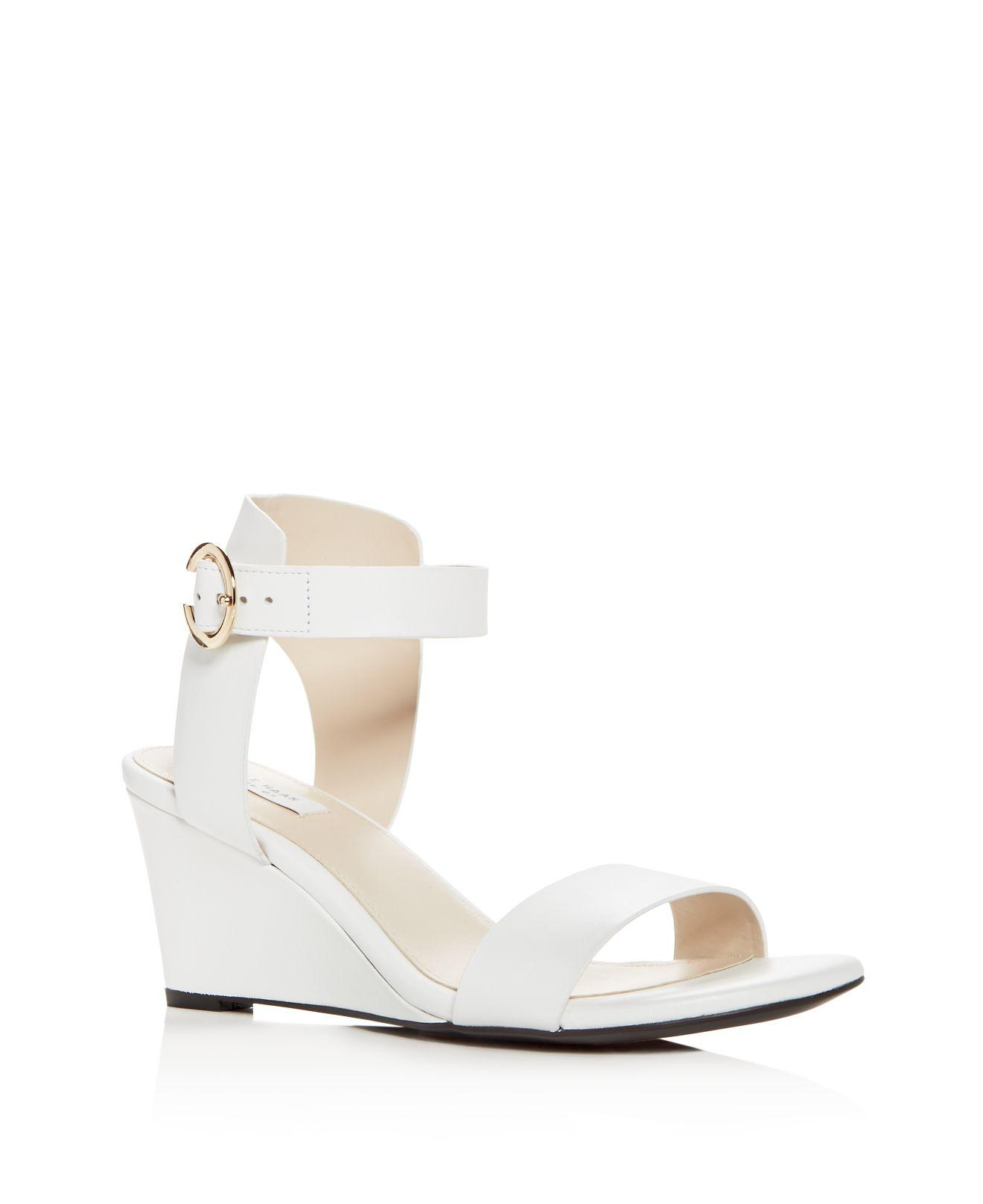 Cole Haan Rosalind Leather Wedge Sandal 3tzNn3