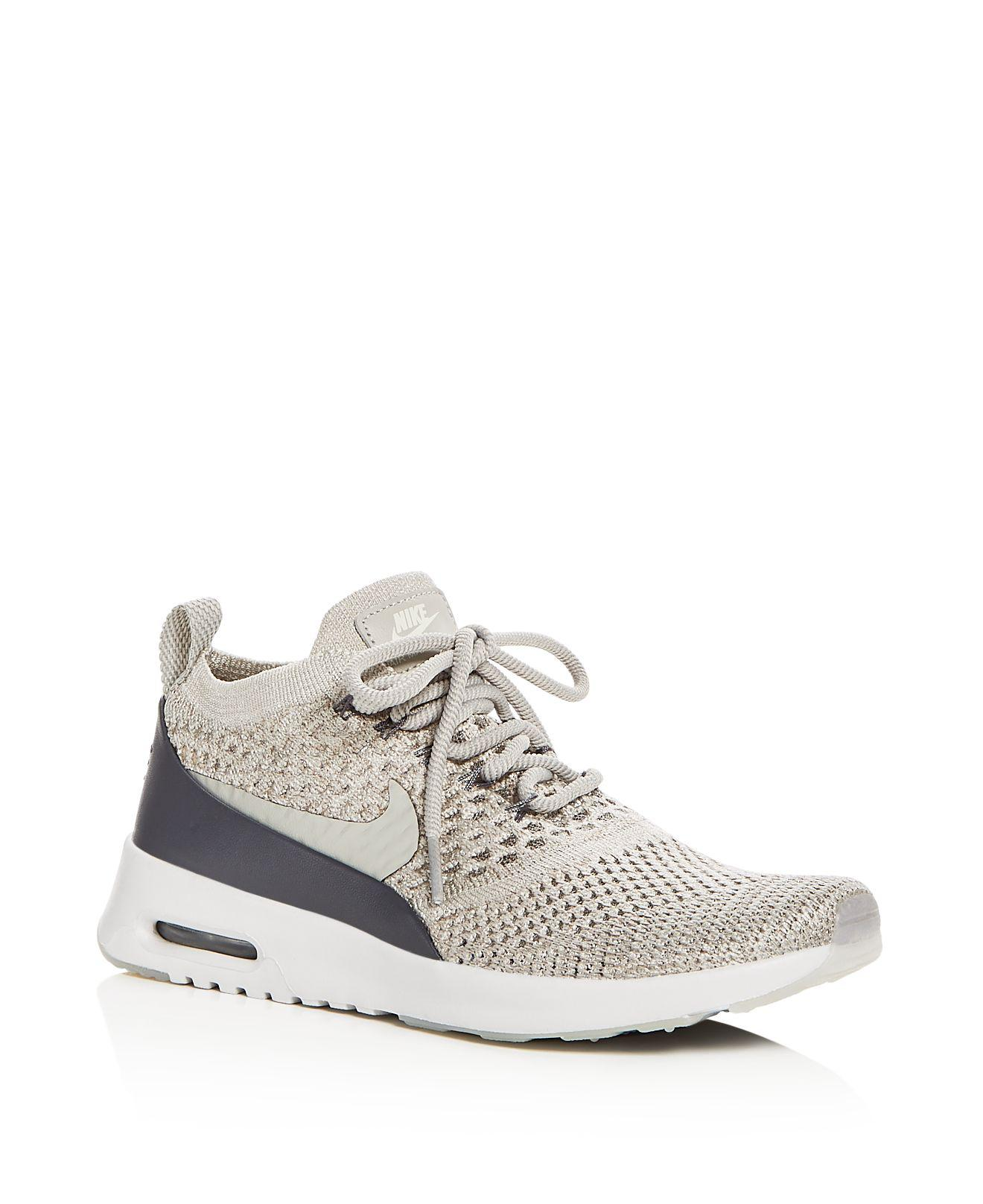 Nike. Gray Women's Air Max Thea Ultra Flyknit ...