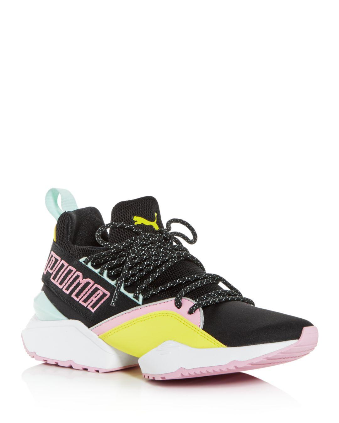 b3a1618b8dc Lyst - PUMA Women s Muse Maia Tz Knit Low-top Sneakers - Save 30%
