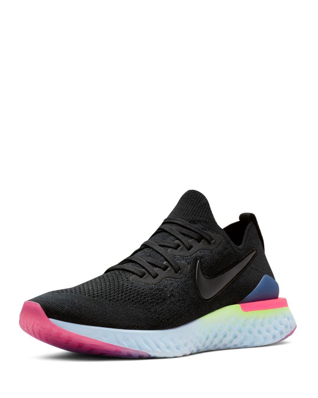 0d7cda3b31a9 Lyst - Nike Men s Epic React Flyknit Sneakers in Black for Men