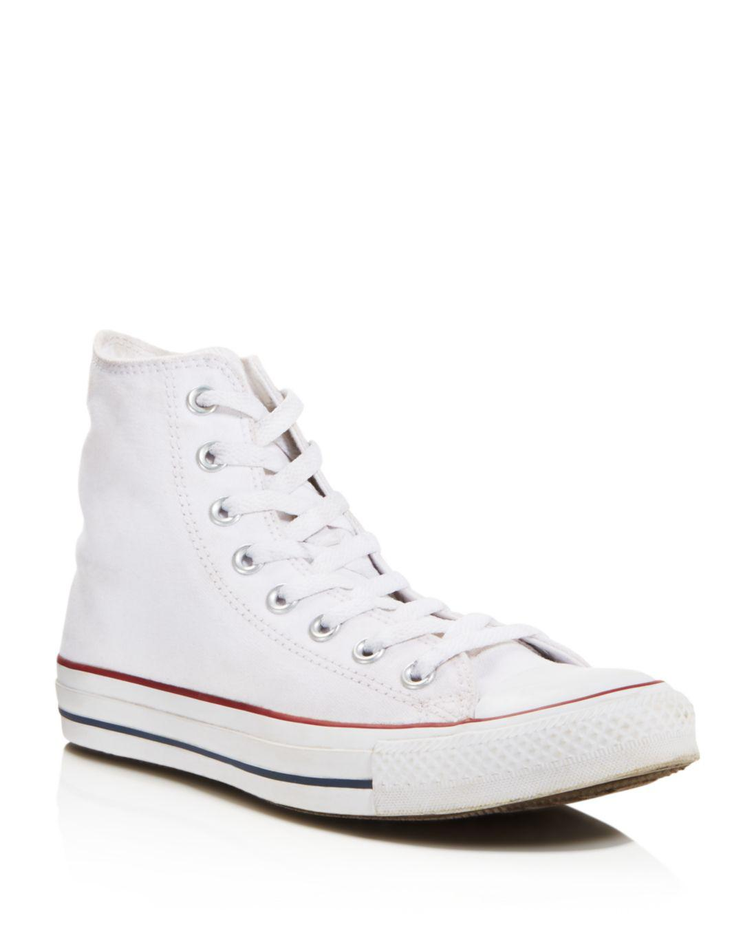 010246b510623a Lyst - Converse All Star Hi Top Women s Trainer White in White ...