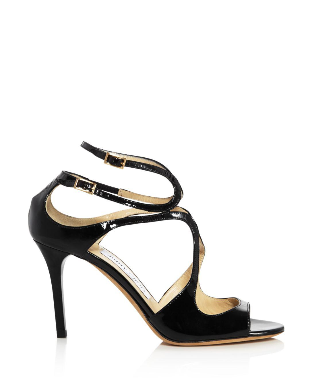 d85078cfc Jimmy Choo Women's Ivette 85 High-heel Sandals in Black - Save 48% - Lyst