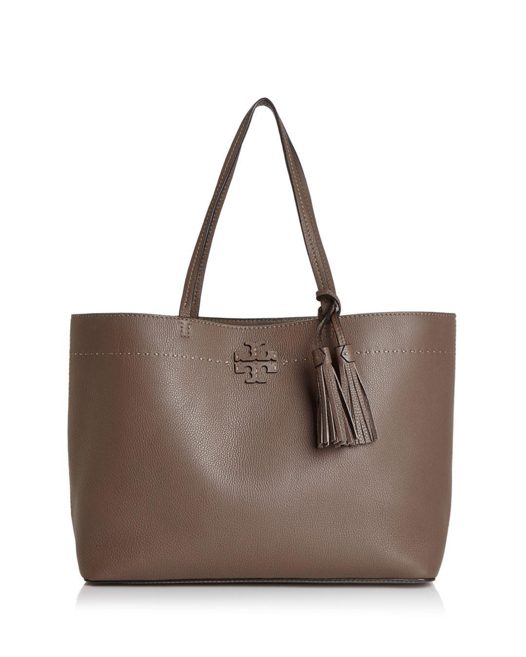 ddfde2bb4a4f Lyst - Tory Burch Mcgraw Medium Leather Tote - Save 20%