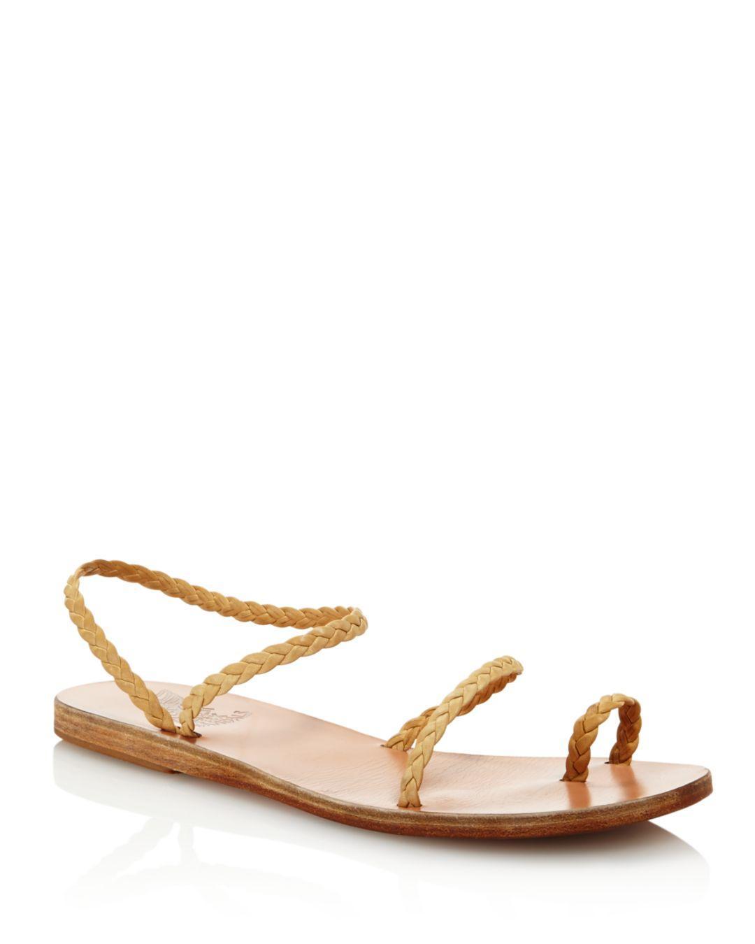 95659020050d66 Lyst - Ancient Greek Sandals Women s Eleftheria Braided Slip-on ...