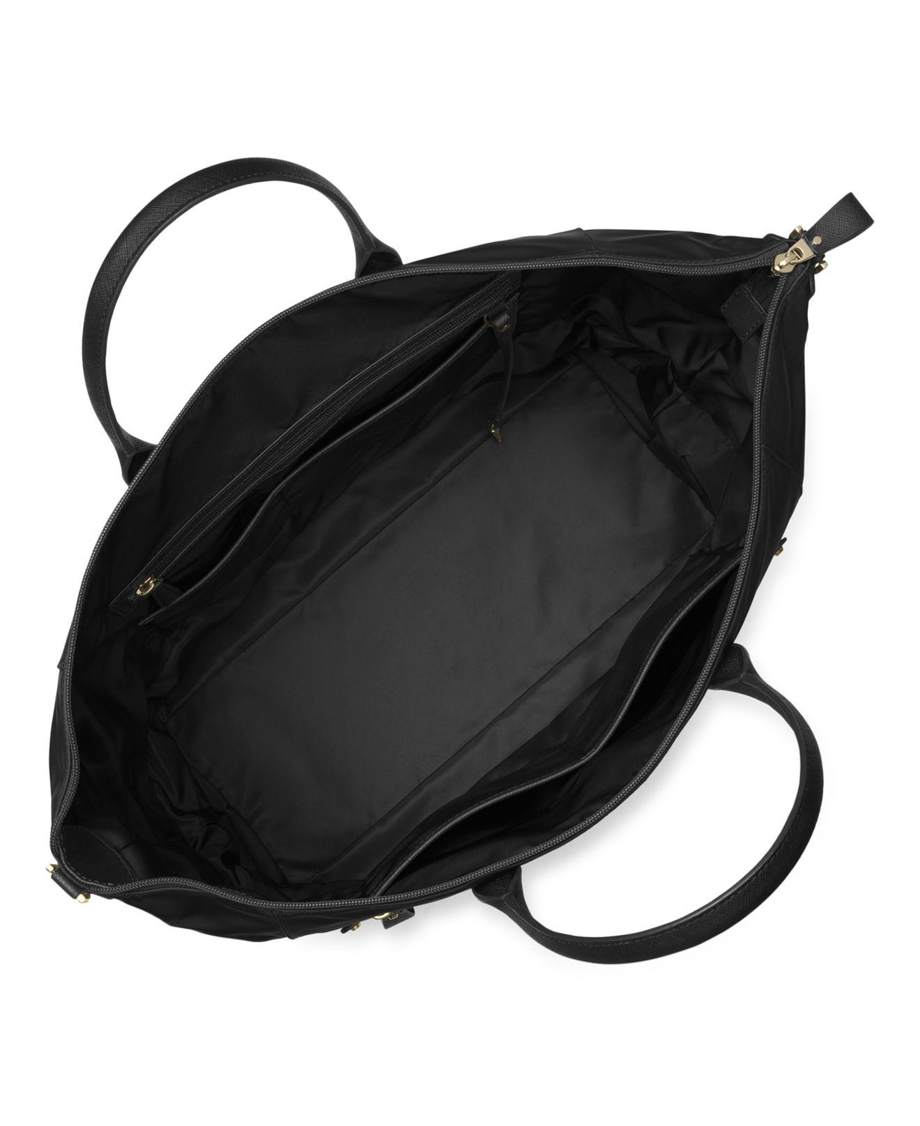 47739fd7505f Lyst - MICHAEL Michael Kors Kelsey Expandable Extra Large Nylon ...
