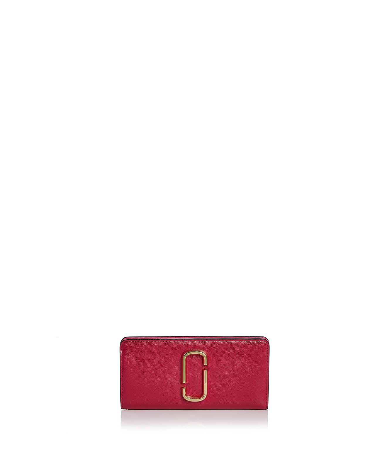 Embellished Metallic Leather Keychain - Pink Marc Jacobs 1XMyi