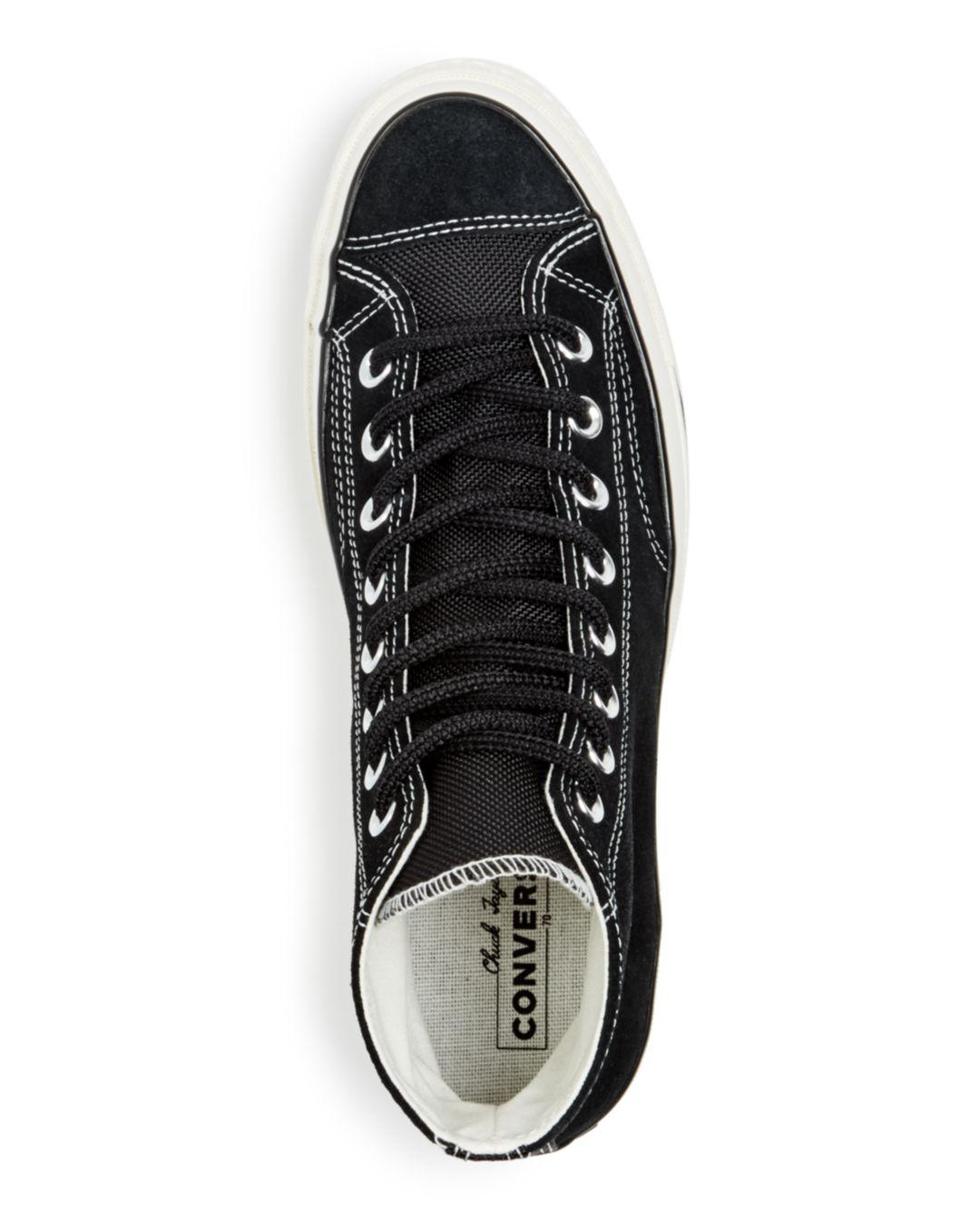 Lyst - Converse Men s Chuck Taylor All Star 70 Suede High-top Sneakers in  Black for Men 44e635653