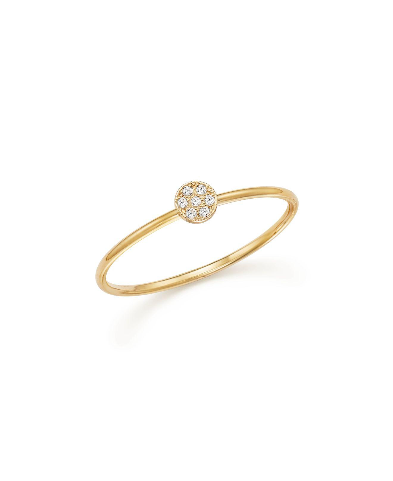 Zoë Chicco 14k Prong Diamond Wrap Ring SVD15inOz