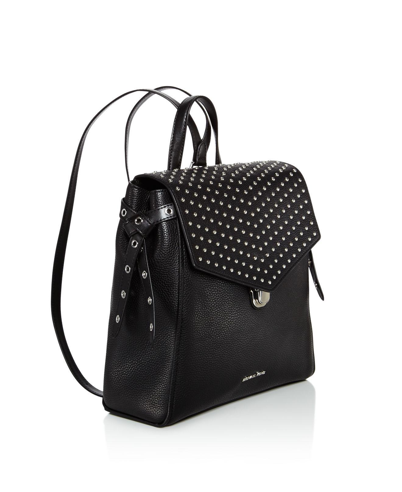 6ff2a2db627e Cheap Michael Kors Backpack Sale - MK Bags Outlet. Buy Michael Kors  Backpacks Bristol Medium Studded Leather Backpack Pearl Grey ...