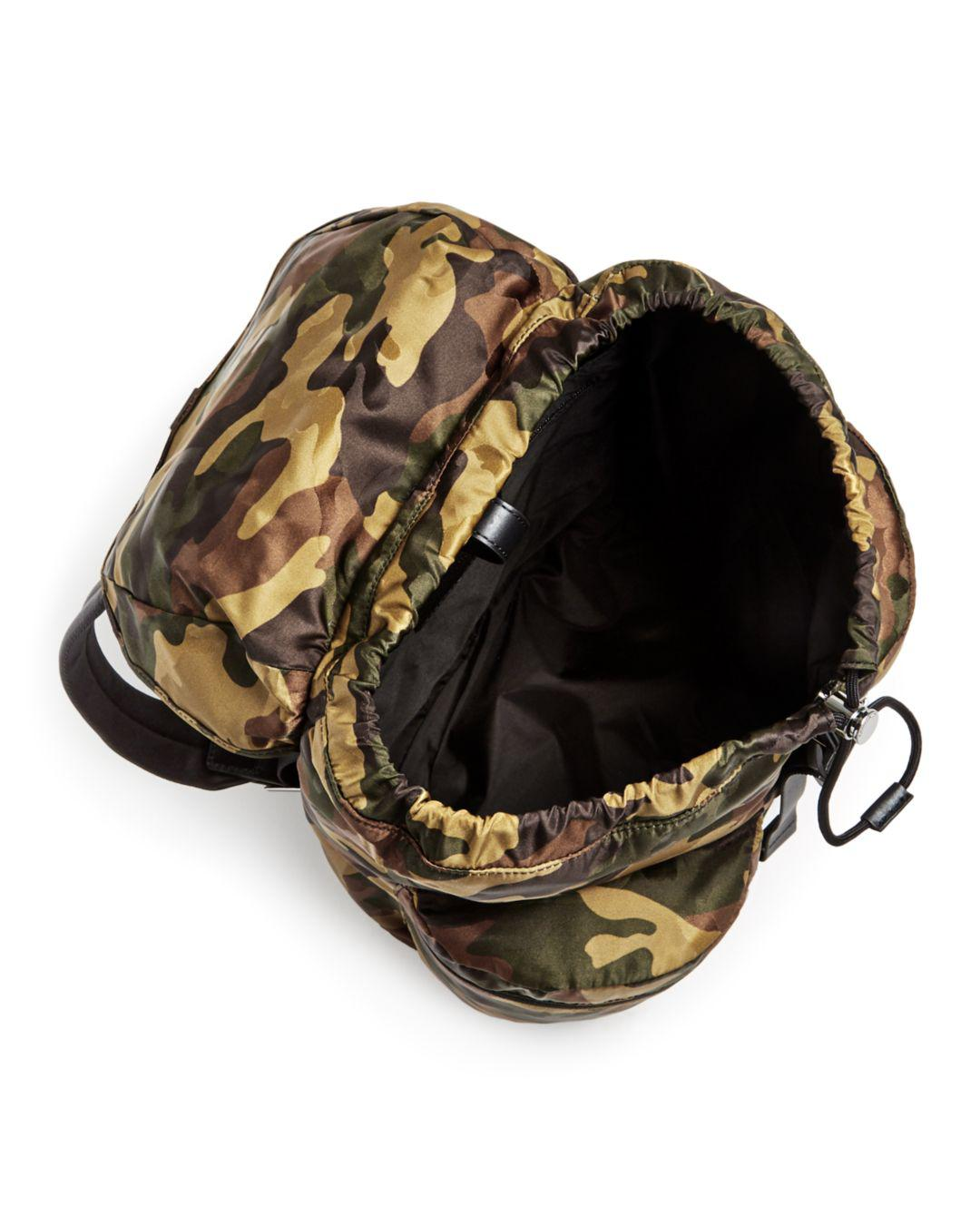 78d73fdaac17 Lyst - Michael Kors Kent Camo-print Nylon Backpack in Green for Men