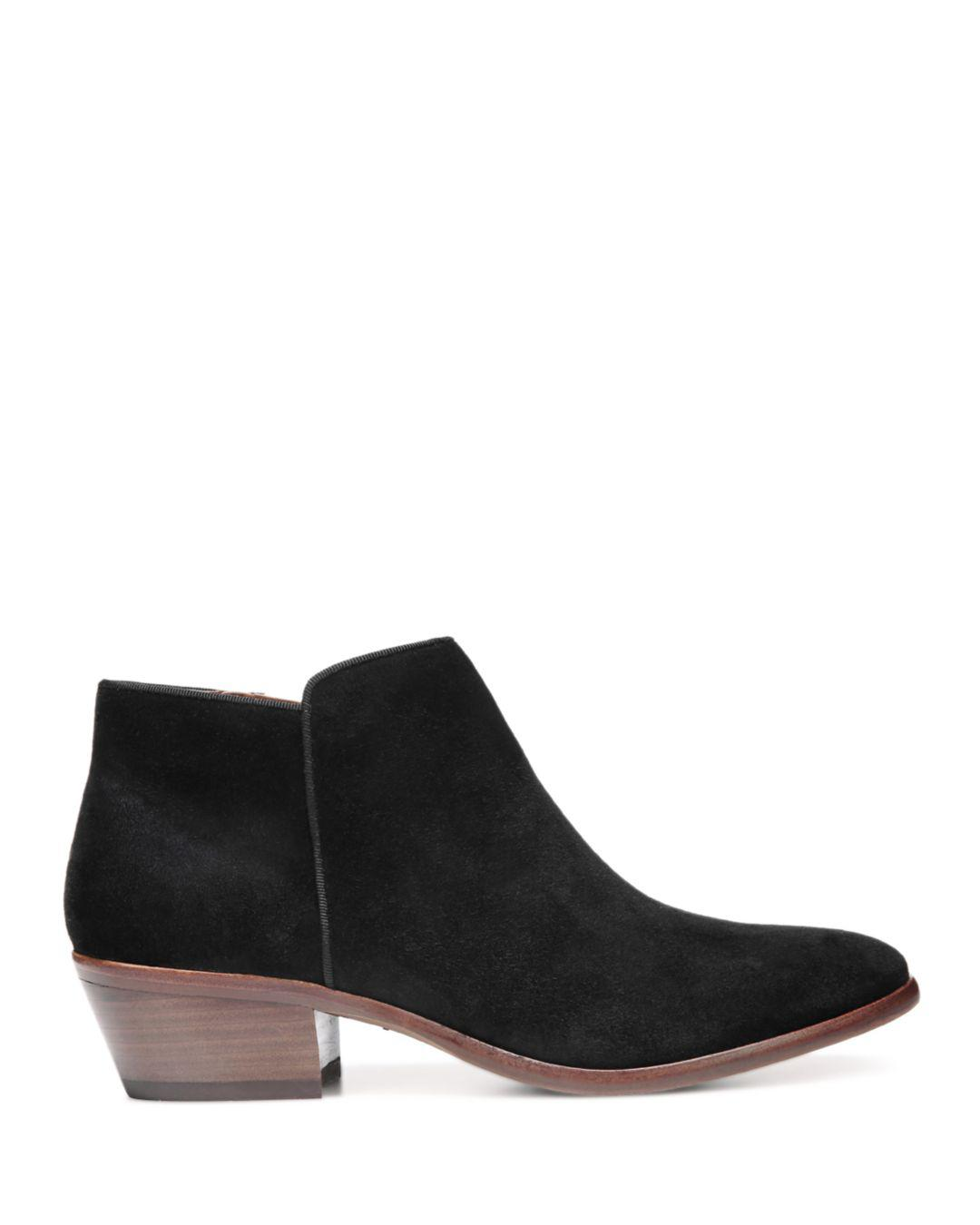 36d20df1eedf2 Lyst - Sam Edelman Petty Ankle Boots in Black
