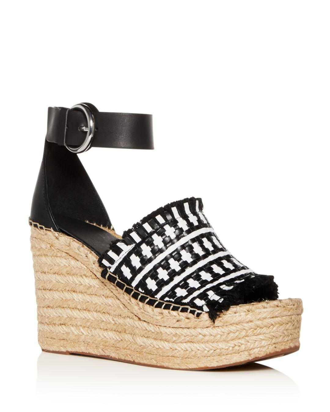 c4ab02480d0 Marc Fisher Women s Andrew Woven Leather High-heel Platform ...