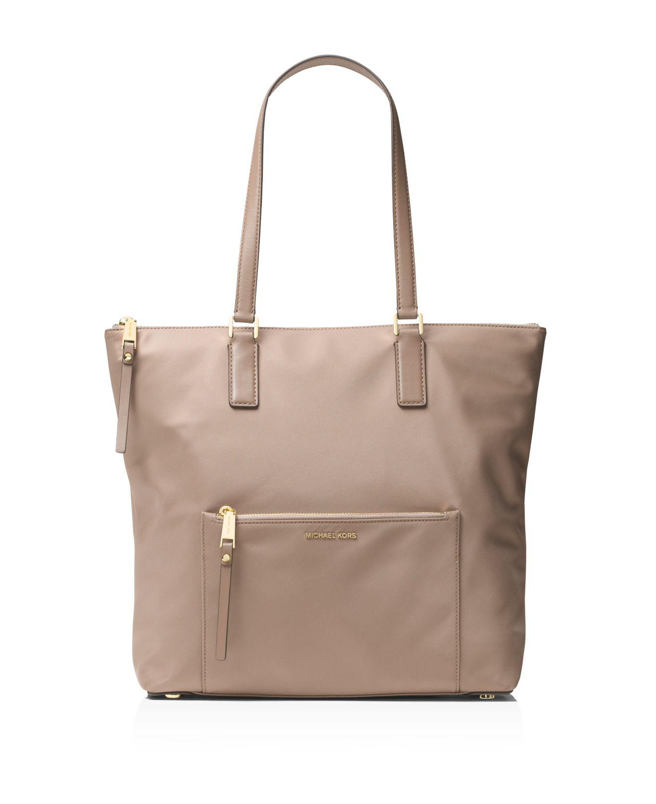 5645a277f2d217 Lyst - MICHAEL Michael Kors Ariana North/south Large Nylon Tote