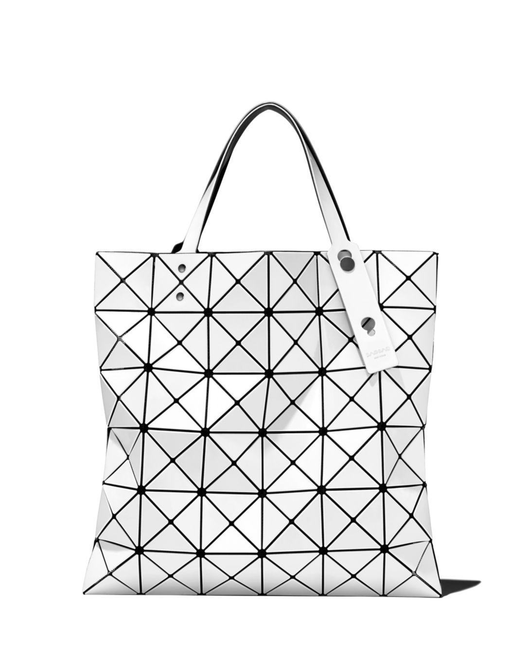 Lyst - Bao Bao Issey Miyake Lucent Tote in White f7bc13a2609be