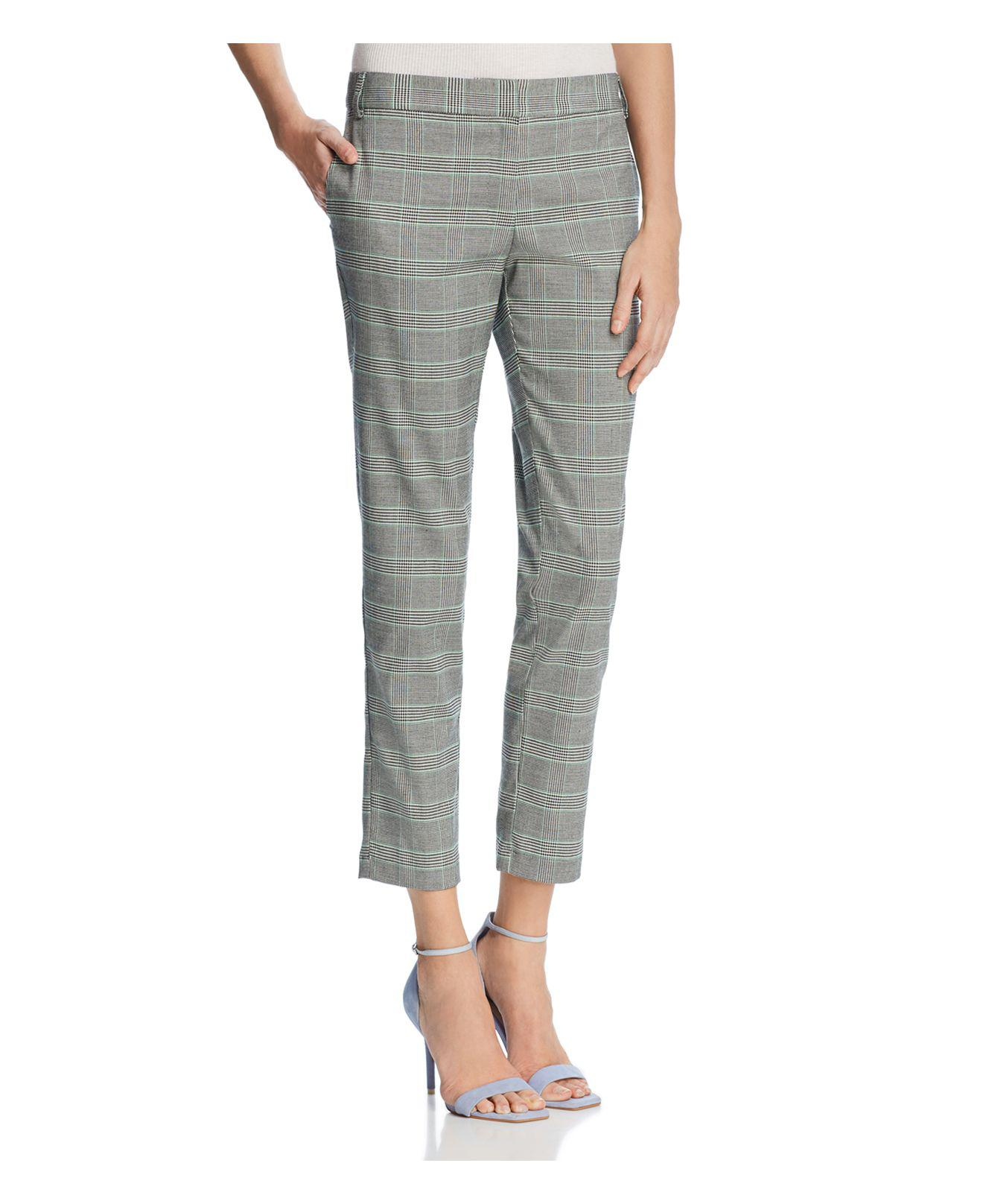 glen plaid cropped trousers - Grey Taylor LfhqSQABwO
