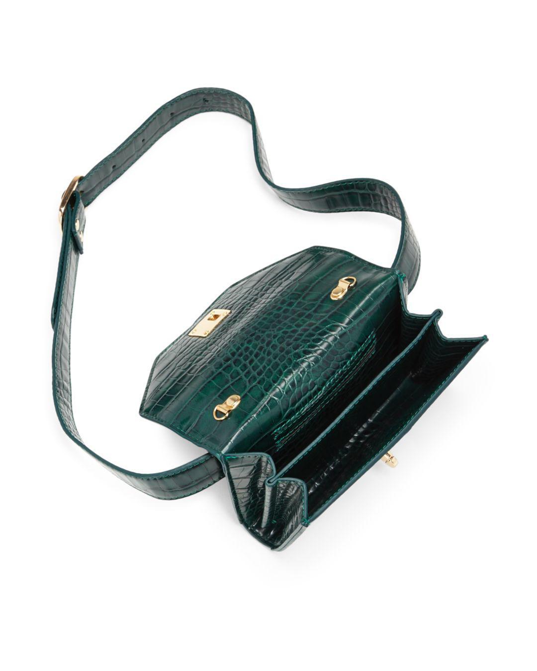 Aqua - Multicolor Medium Croc-embossed Convertible Belt Bag - Lyst. View  fullscreen 723aa71bd2