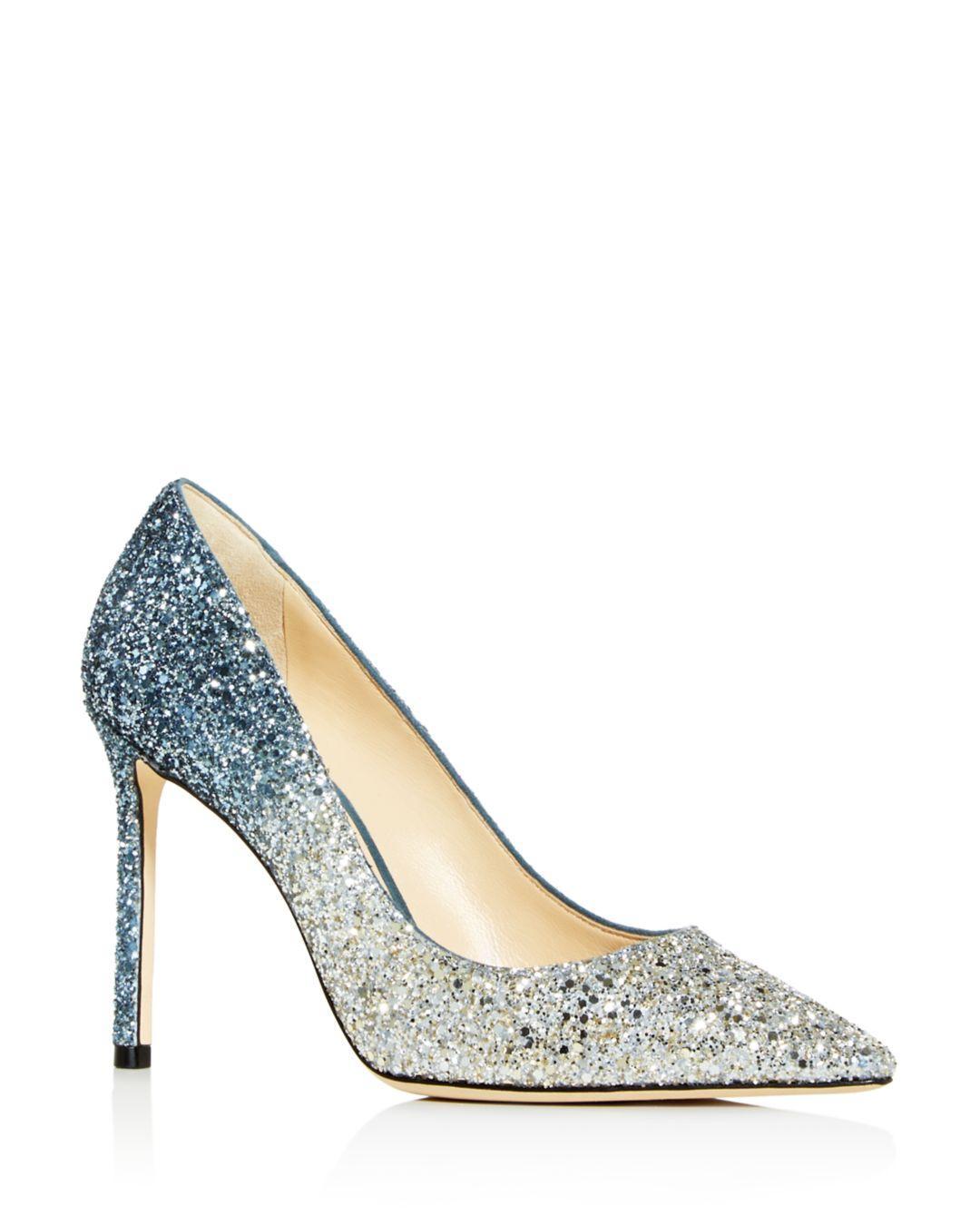 Jimmy Choo Womens Romy 100 High-heel Pointed Toe Pumps In
