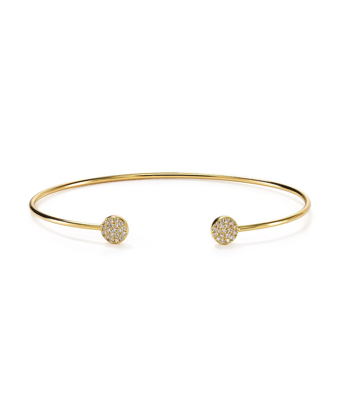 BCBGeneration Pave Cuff Bangle Bracelet N22oX