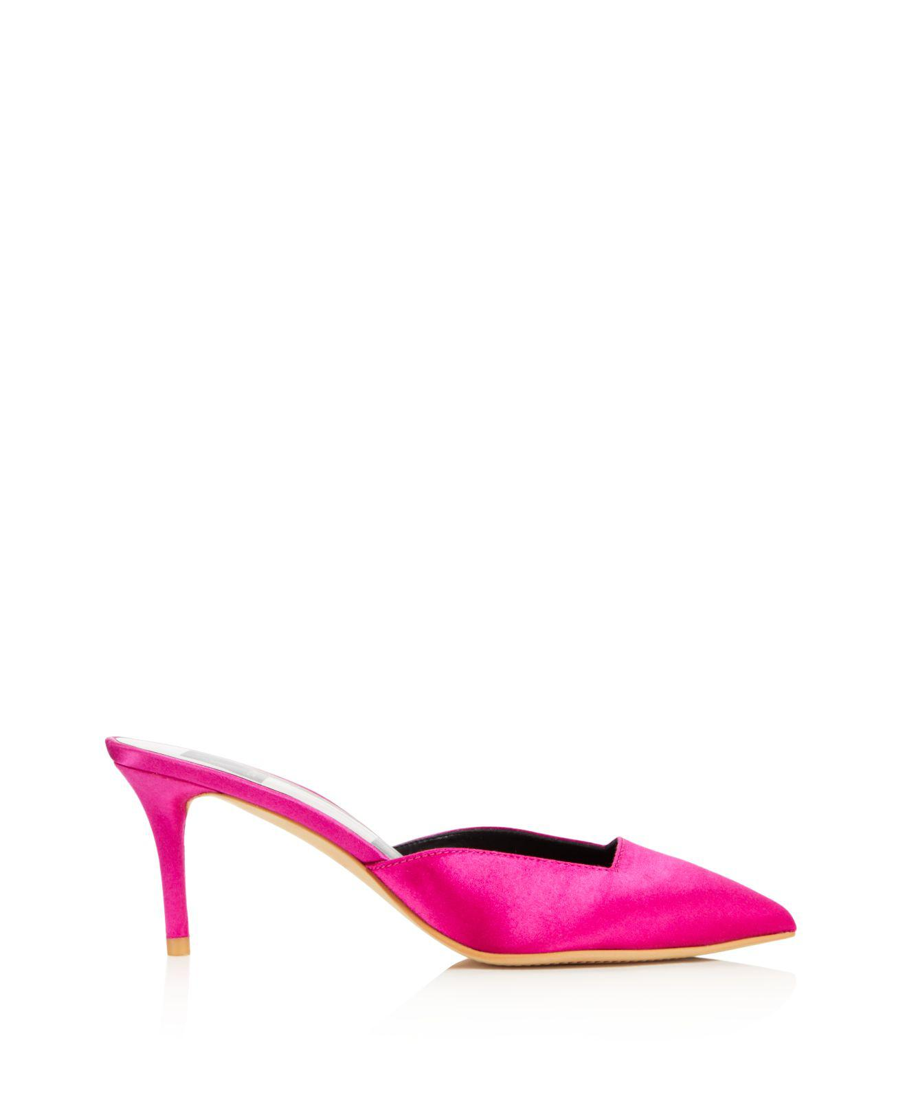 Dolce Vita Women's Rhyme Satin Mule Pumps - 100% Exclusive