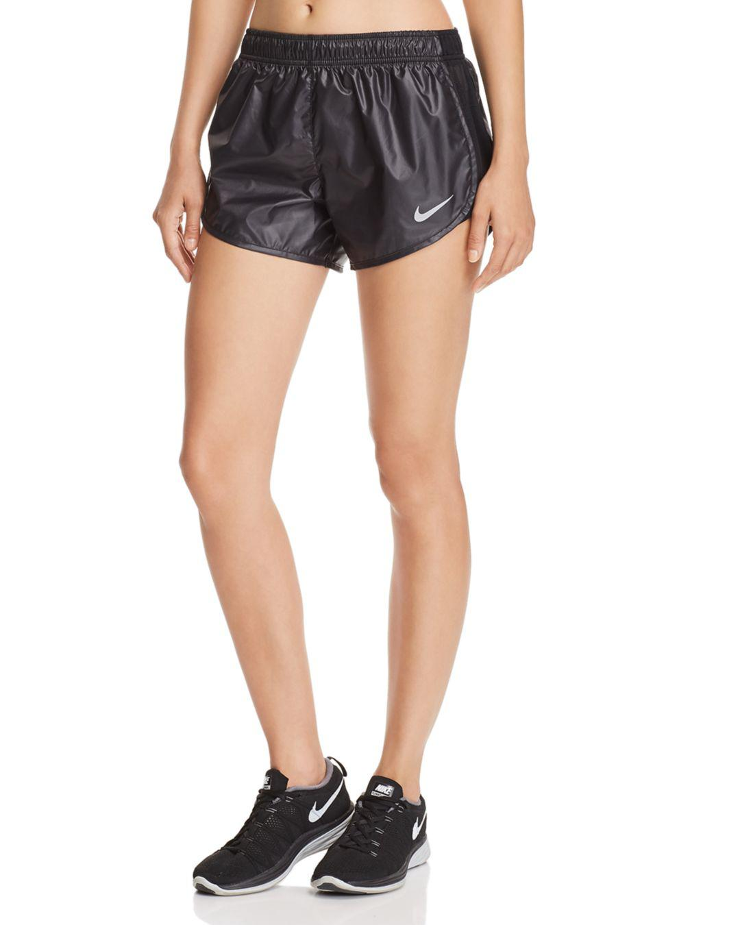 92f3529260b2 Lyst - Nike Tempo Mesh-inset Shorts in Black