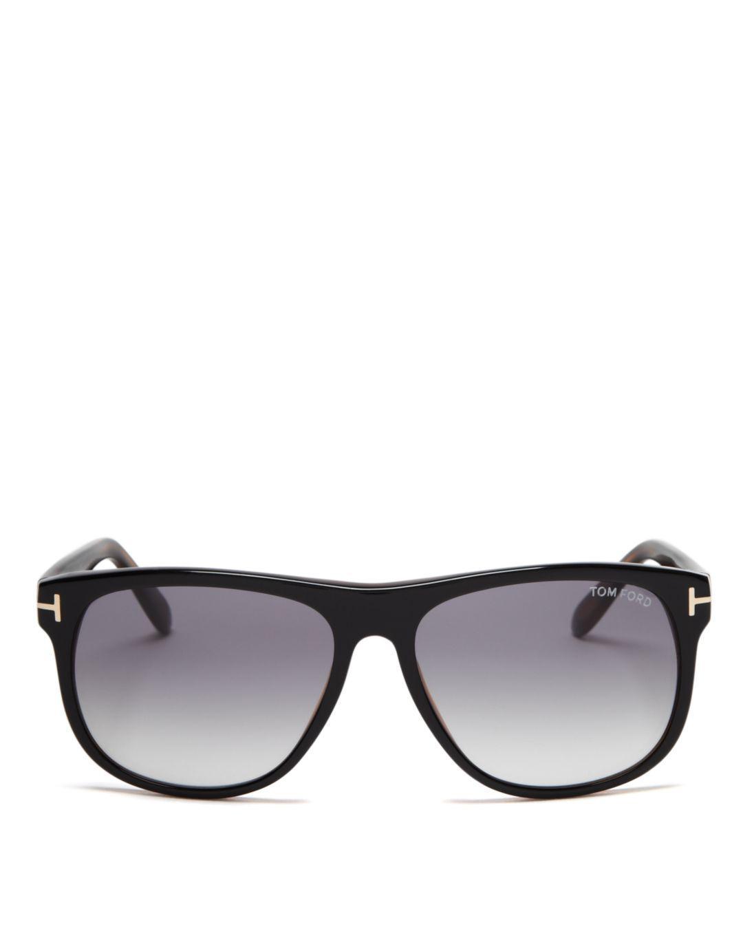 ffecd46becd Tom Ford - Black Men s Olivier Sunglasses for Men - Lyst. View fullscreen