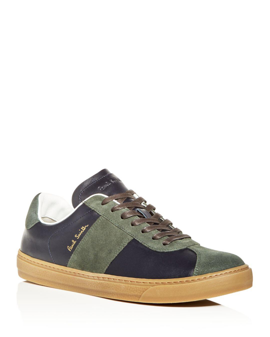 Levon Lace Leather Up In Lyst amp; Men's Smith Suede Sneakers Paul 1OnwqA7