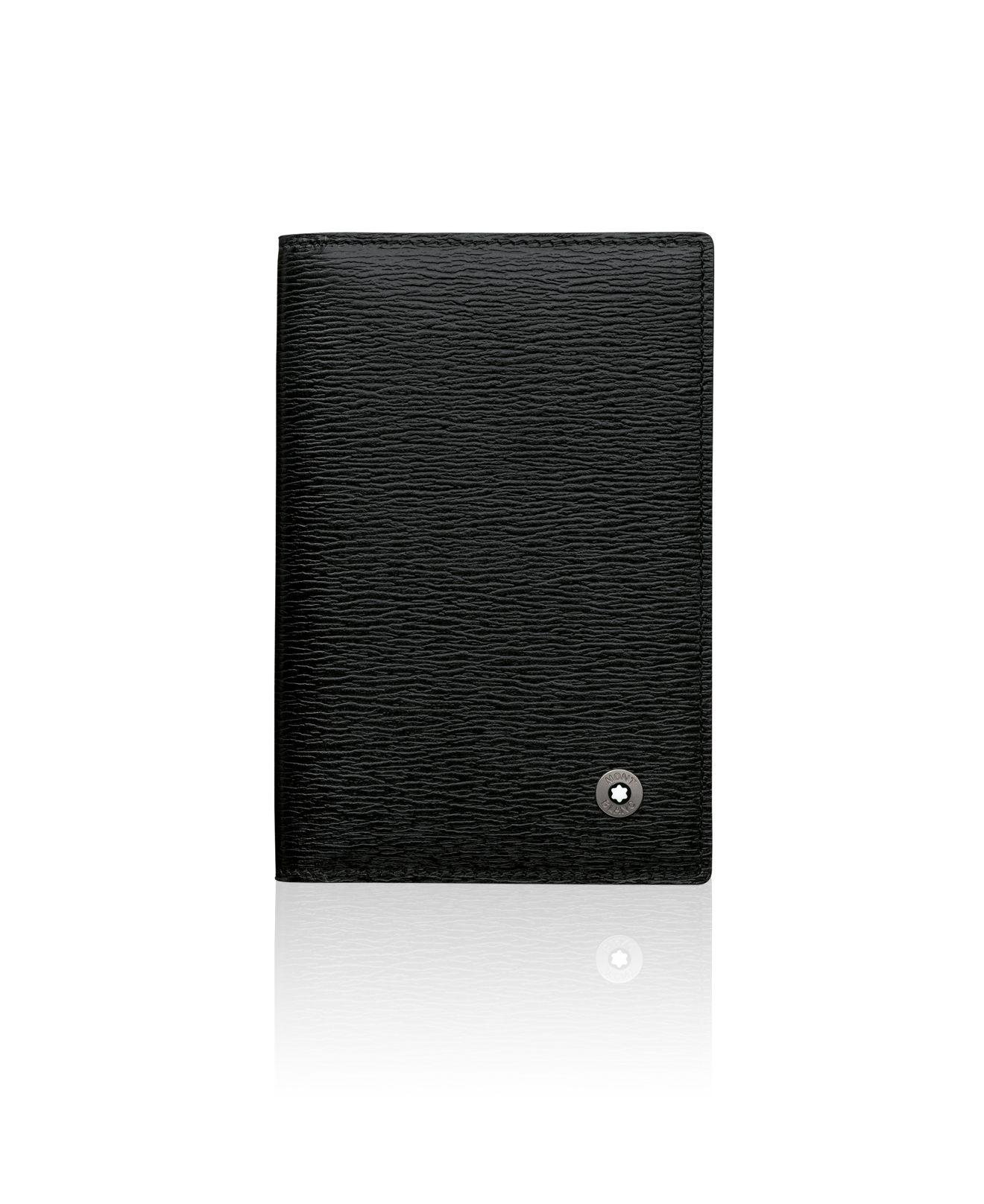 Montblanc 4810 Westside Business Card Holder in Black for Men