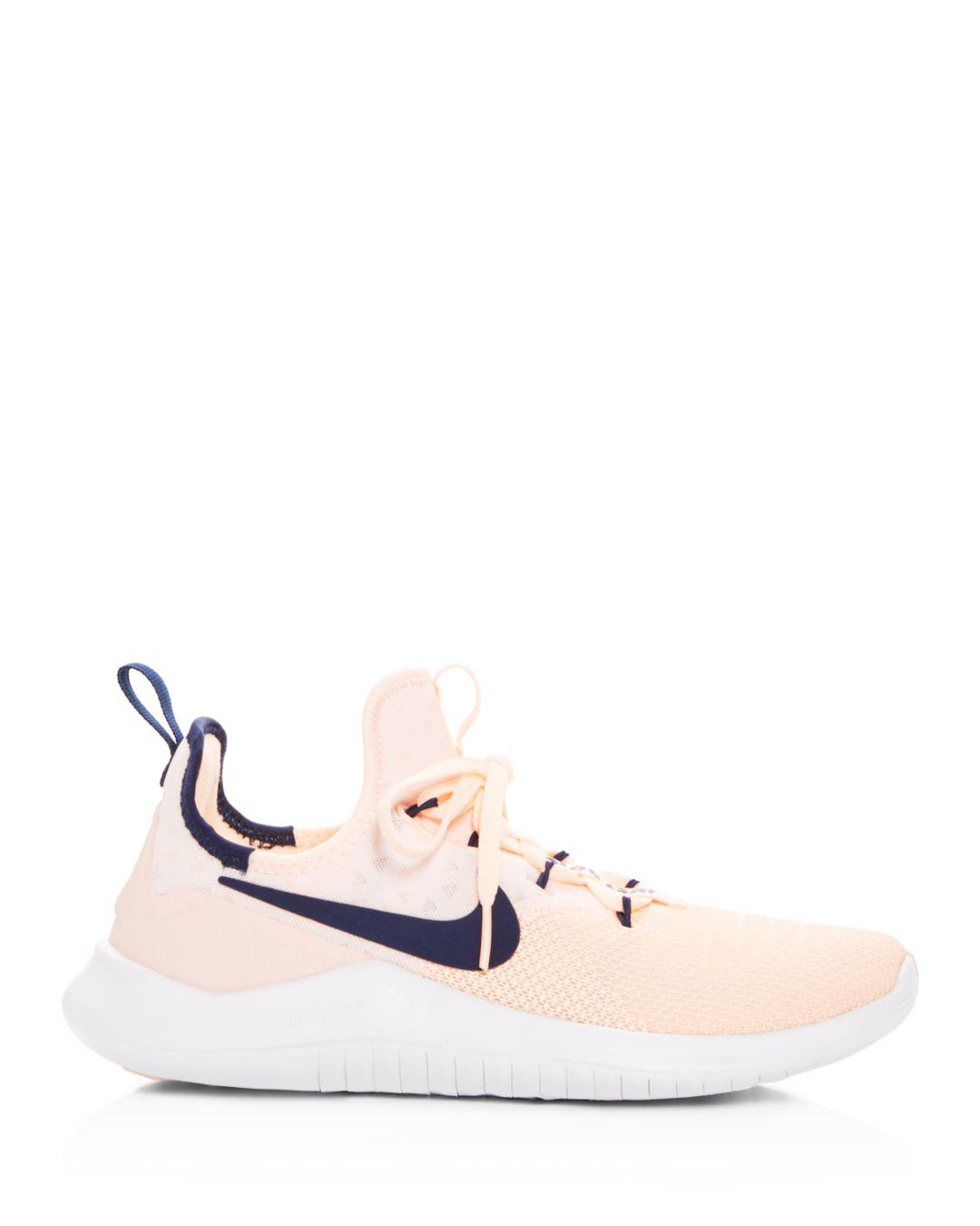 new arrival 33e00 5bbf4 Lyst - Nike Womens Free Tr 8 Lace Up Sneakers - Save 30.0%