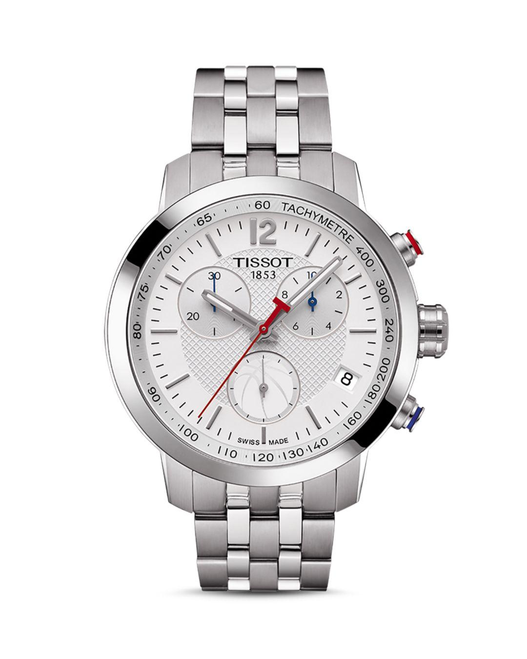 a347fbf26e4 Tissot Nba Prc 200 Stainless Steel Chronograph in Metallic for Men - Save  8% - Lyst