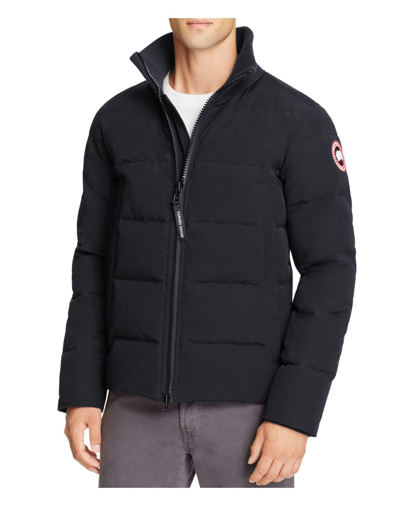 Canada Men S Sevens: Canada Goose Woolford Down Jacket In Blue For Men