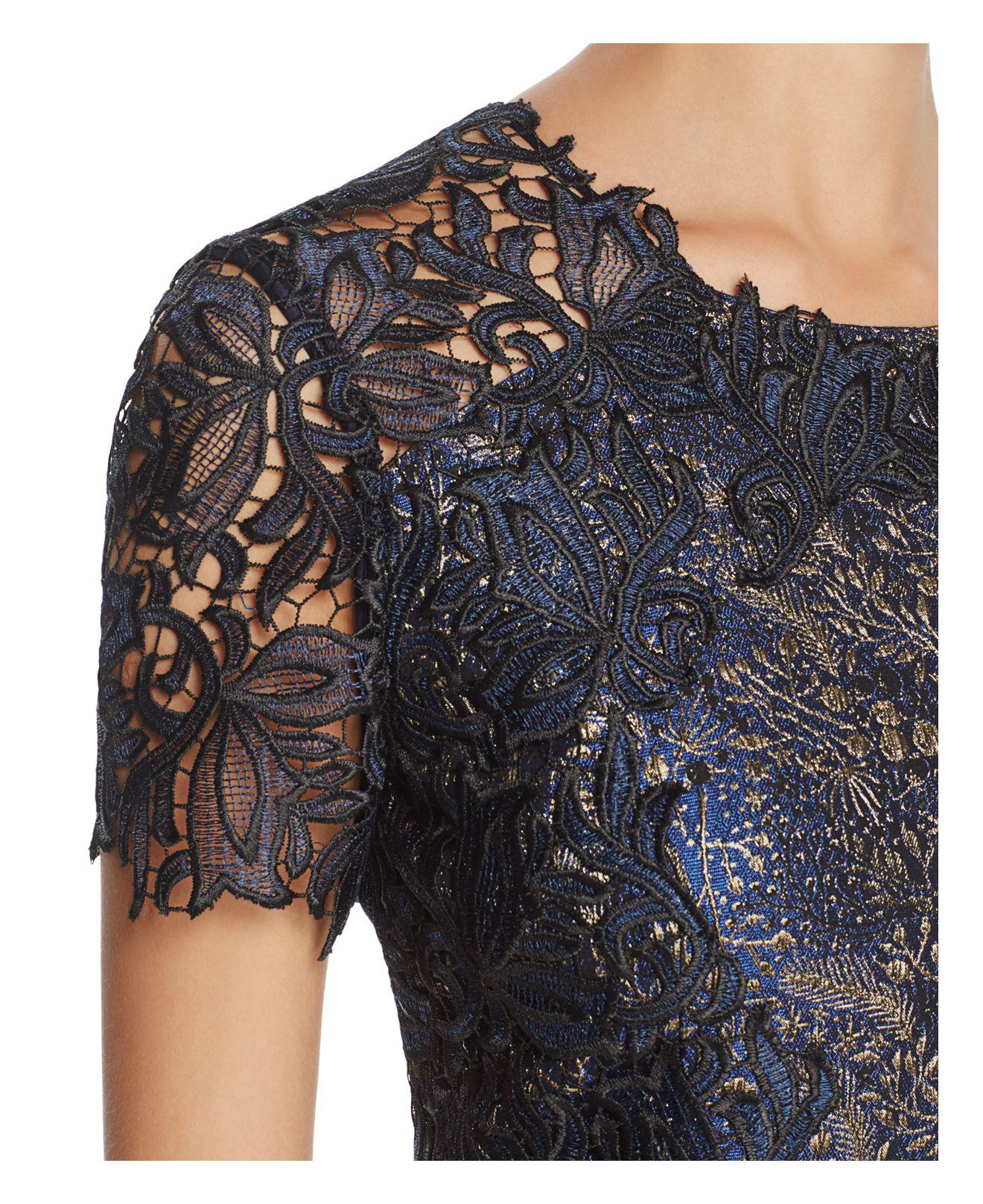 Galine lace cocktail dress