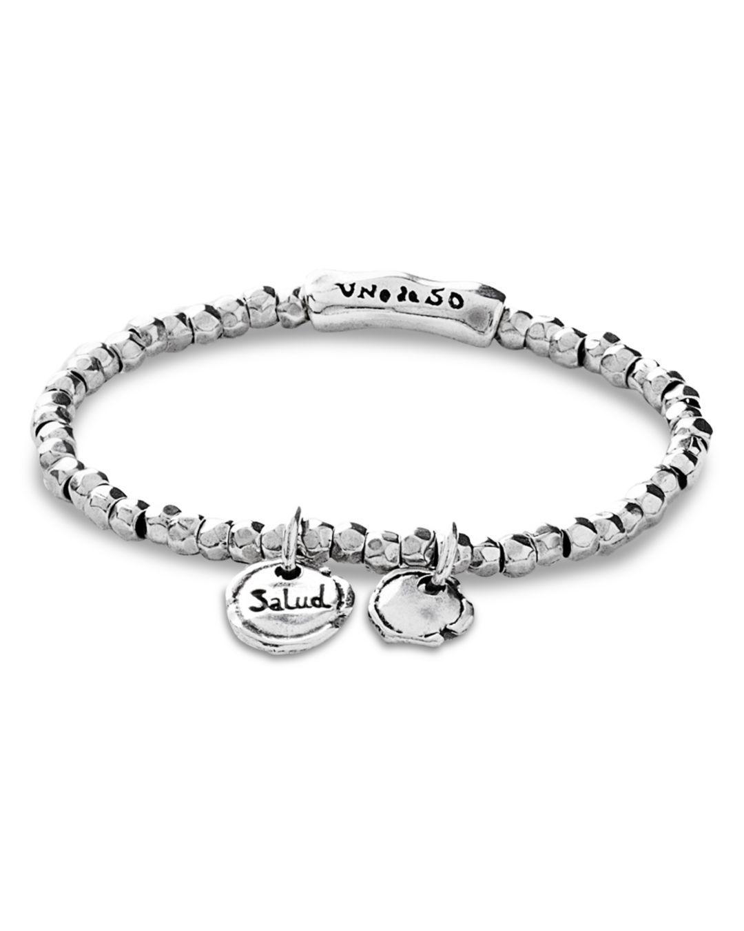 Lyst Uno De 50 Certificated Luck Bracelet In Metallic