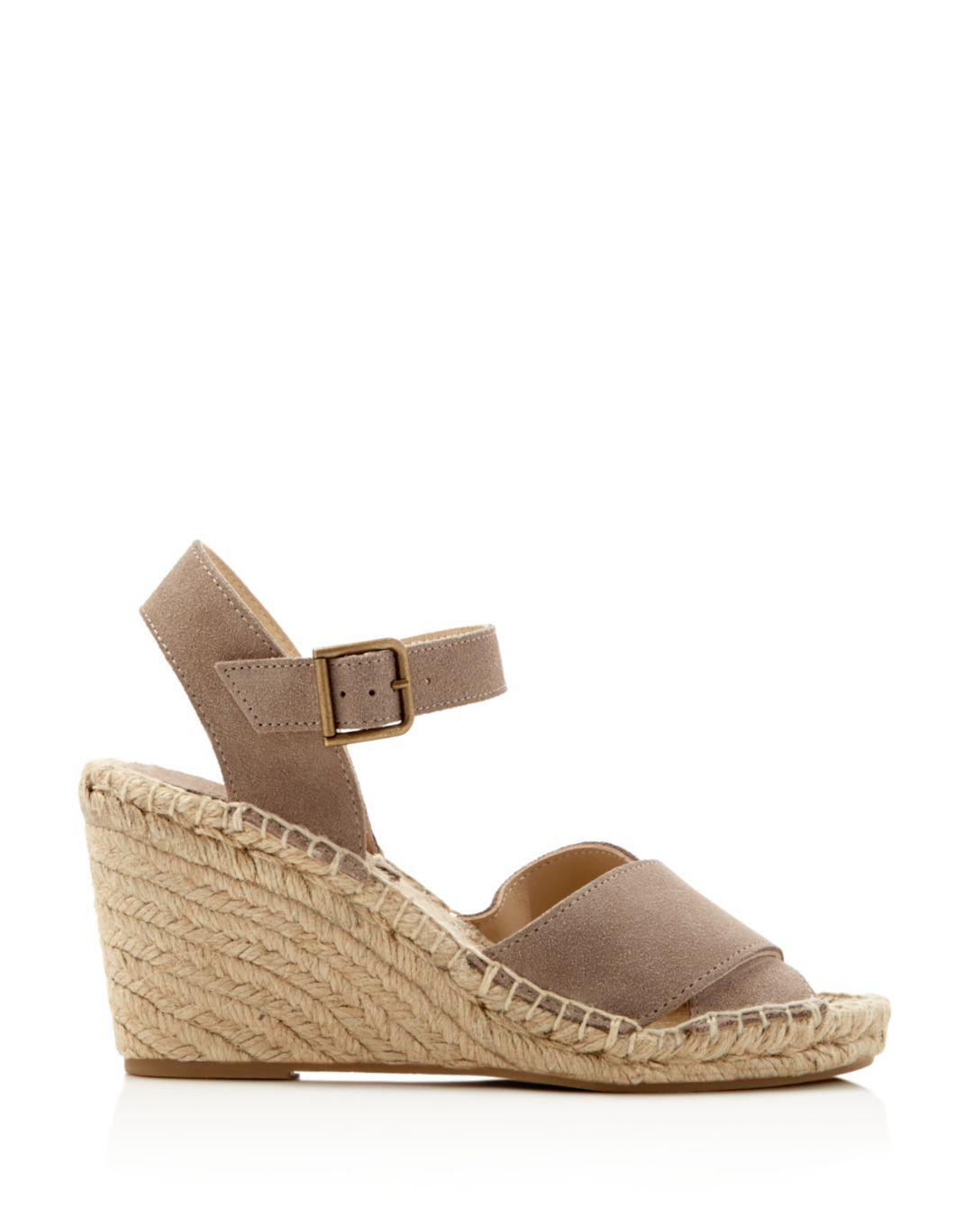 e7542ea46b8 Lyst - Soludos Crisscross Wedge Espadrilles in Purple - Save 50%