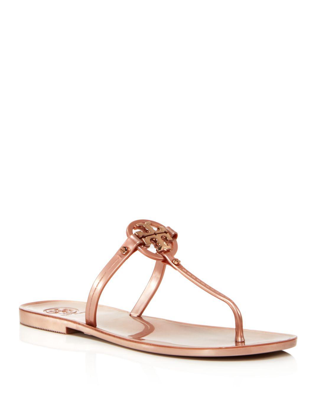 fe4efc2ae1a9c Tory Burch. Women s Mini Miller Jelly Flat Thong Sandals